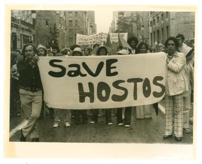 Protest to save Hostos Community College