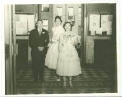 Elba Cabrera's wedding day
