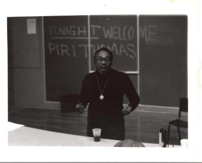 Piri Thomas at SUNY in Old Westbury
