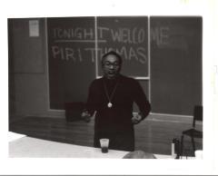 Piri Thomas at SUNY in Old Westbury
