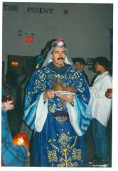 Jose Serrano in a Three Kings Celebration