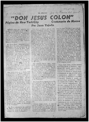 Don Jesús Colón