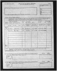 Medical assistance application for Jesús and Clara Colón