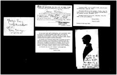 Variety of personal cards of Jesús Colón's