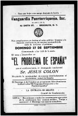 El Problema de España / The Problem of Spain