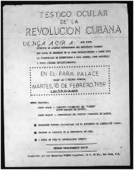Testigo Ocular de la Revolución Cuba / Eyewitness of the Cuban Revolution