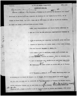 La Voz de España Combatiente / The Voice of the Spanish Fighter