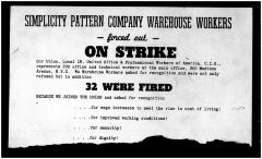 Simplicity Pattern Company Warehouse Workers Forced Out on Strike