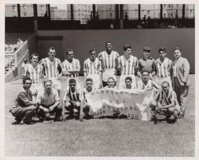 A Honduran Soccer Team