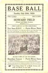 Baseball at Howard Field