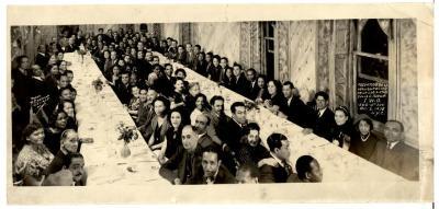 Recuerdo de la Inauguración de la Logia 4763 Julio A. Mella /  Remembrance of the Inauguration of the Lodge 4763 Julio A. Mella