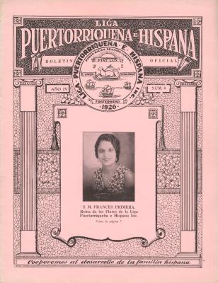 Boletin from La Liga Puertorriqueña e Hispana / The Puerto Rican and Hispanic League