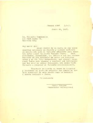 Correspondence to Gilberto Concepcion de Gracia
