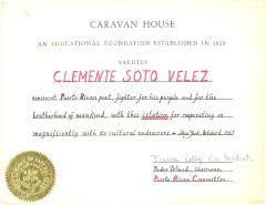 Caravan House Certificate