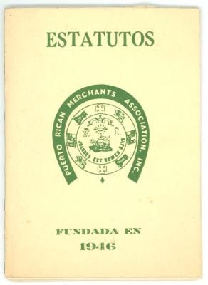 Estatutos - Puerto Rican Merchants Association / Statutes