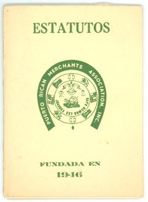 Estatutos - Puerto Rican Merchants Association / Statutes