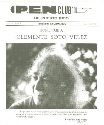 Homenaje a Clemente Soto Velez / Homage to Clemente Soto Velez