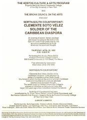 North-South Counterpoint: Clemente Soto Velez - Soldier of the Caribbean Diaspora