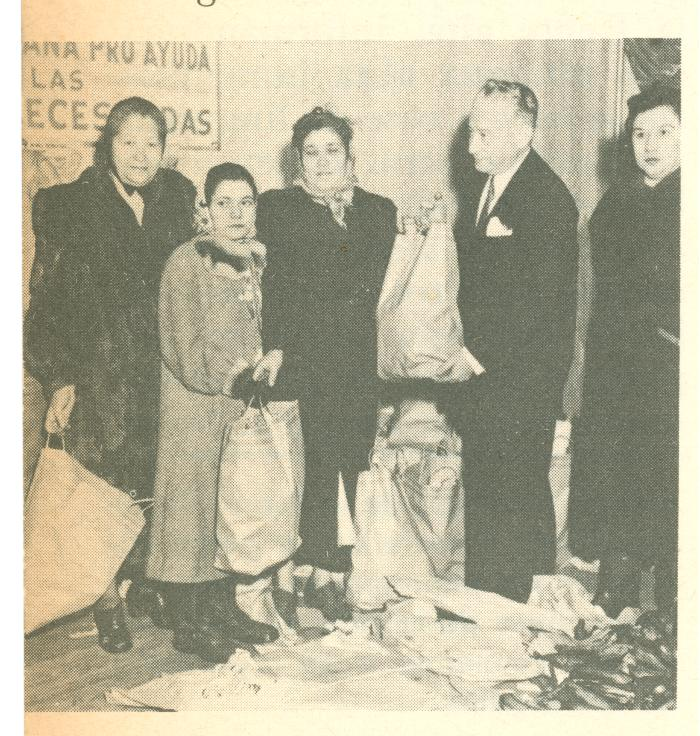 Group of people with bags
