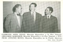 Clemente Soto Velez, Gregorio Kobisher, Picio Antonio Reyes