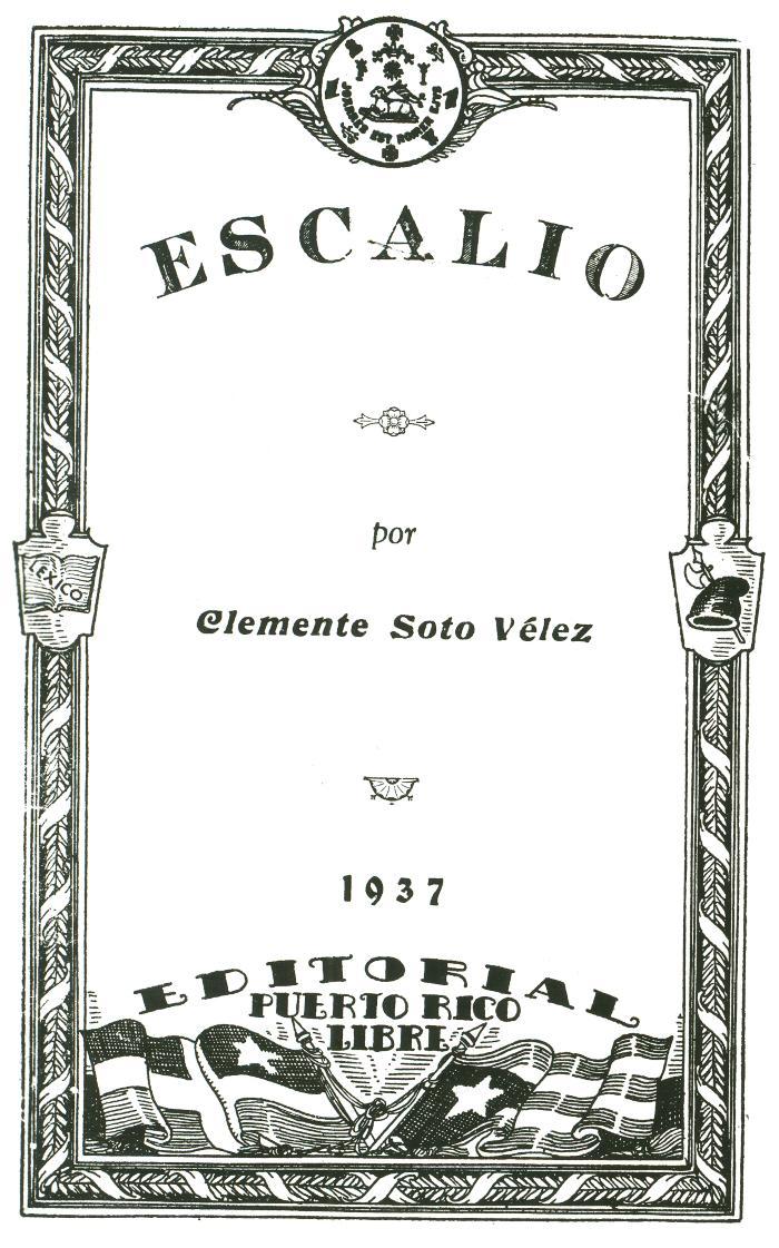 Escalio por Clemente Soto Velez