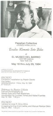 Escalio: Klemente Soto Beles