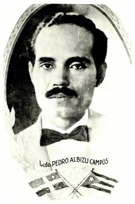 Portrait of Pedro Albizu Campos