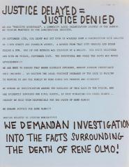 Justice Delayed = Justice Denied