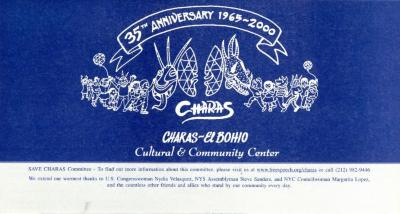 35th Anniversary of CHARAS 1965-2000