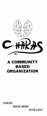 Brochure, CHARAS, Inc