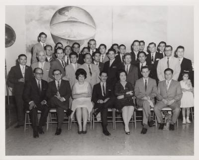 Group meeting at Ecuadorian Center