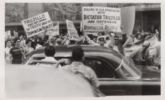 A protest against Dictator Trujillo
