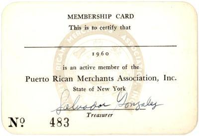PRMA Membership Card