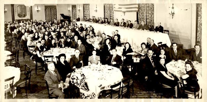 Spanish Grocers Association banquet