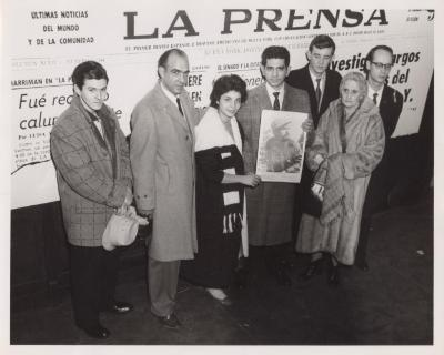 "The Hispanic newspaper ""La Prensa"""