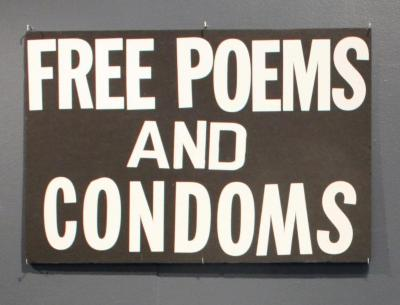 Free Poems and Condoms