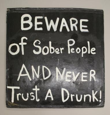 Beware of Sober People/Danger Poeta Out to Lunch