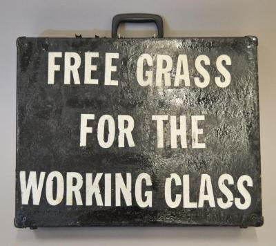 Free Grass for the Working Class/ El Reverendo Pedro
