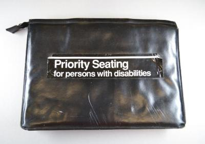 Priority Seating for Persons with Disabilities/ Fear No Art