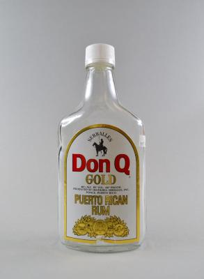 Don Q Puerto rican Rum Bottle