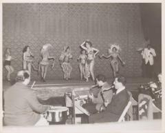 A group of Cuban performers on stage