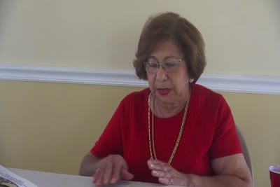 Interview with Norah Venegas on May 21, 2015, Segment 18