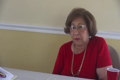 Interview with Norah Venegas on May 21, 2015, Segment 27
