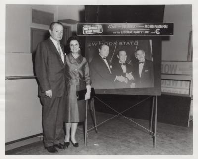Judge Emilio Nuñez and wife Carmina Garcia