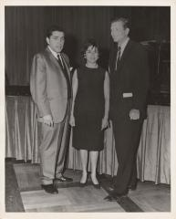 Robert Garcia with John V. Lindsay and his wife Anita Medina