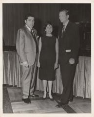Robert Garcia with John V. Lindsay and his wife Anita Medina