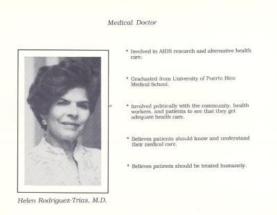 Helen Rodríguez-Trías - Medical Doctor