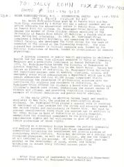 Draft of Helen Rodríguez-Trías - Biographical Sketch