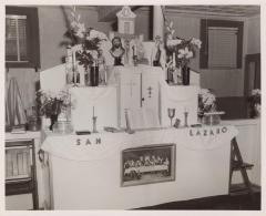 A San Lazaro altar