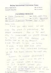 Correspondence to Eddie Gonzalez from Helen Rodríguez-Trías